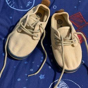 Canvas toddler boy shoes